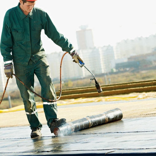 contractor for commercial roofing company